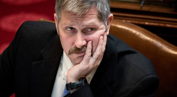 Minnesota Human Services Commissioner Tony Lourey resigned from his post Monday after just six months on the job.