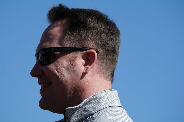 Twins Chief Baseball Officer Derek Falvey.