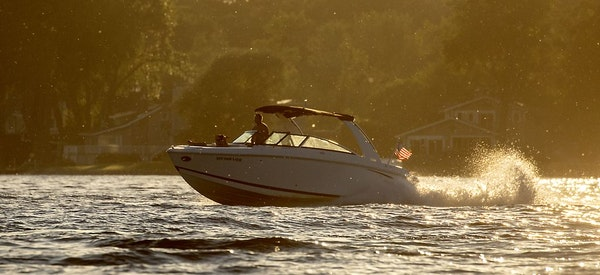 Boaters took to the water as the sun set on Lake Minnetonka Tuesday, July 2, 2019 in Excelsior, MN. Hennepin County epidemiologists were continuing to