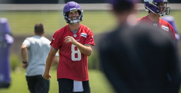 Kirk Cousins has more new material and new personnel to learn entering his second season as Vikings quarterback.