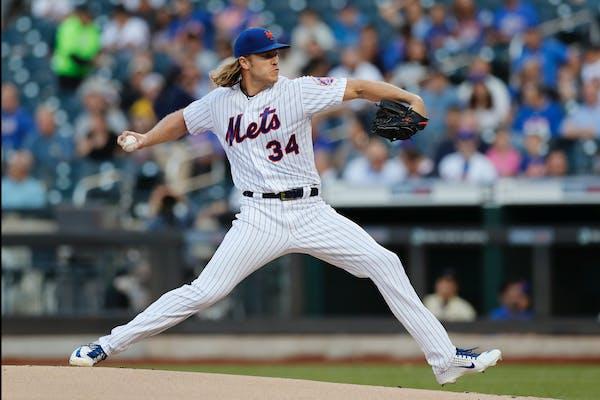New York Mets' starting pitcher Noah Syndergaard