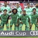 Real Madrid's players lined up for a team photo before a July 31 friendly Audi Cup match against Fenerbahce Istanbul at the Allianz Arena stadium in M