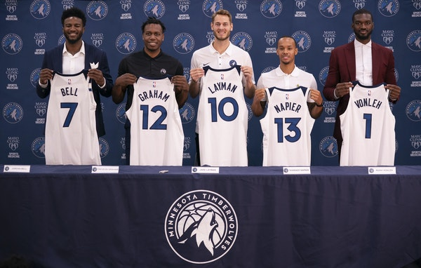 The new Timberwolves may not be household names, but a revamped front office believes they offer the kind of upside and versatility that can build a w