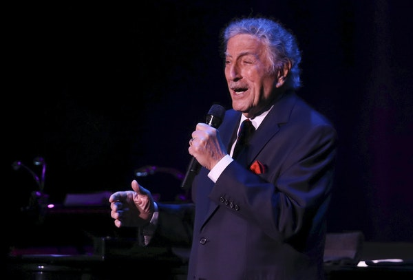 Tony Bennett performed May 2018 at the State Theatre in Minneapolis.