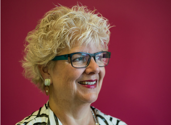 Lee Roper-Batker is retiring in January after nearly two decades at the Women's Foundation of Minnesota. Earlier this year she said she wants to mak