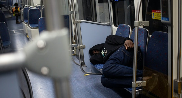 A Minneapolis police report found the Green Line trains form a homeless camp of at least 180 to 275 people every night.