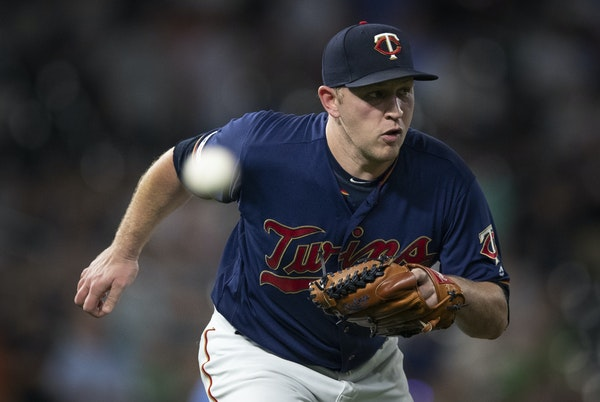 Minnesota Twins relief pitcher Tyler Duffey