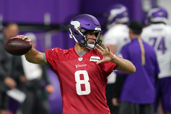 A year after signing quarterback Kirk Cousins to a then-record $84 million guaranteed contract, the Vikings hope he's more comfortable in Minnesota.