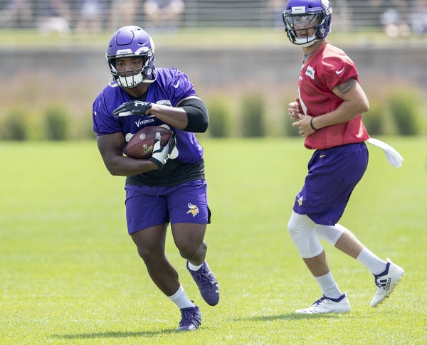 Fullback C.J. Ham should be on the field more this season in the Vikings' more power-oriented offense.