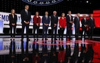 The first of two debates scheduled to take place in Detroit among Democratic candidates for president in 2020 kicked off Tuesday night.