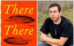 """Tommy Orange is a finalist for the Dayton Literary Peace Prize for his novel, """"There There."""""""