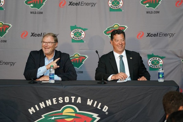 Wild introduce Bill Guerin as general manager