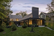 Modern melds with tradition in this Wayzata home designed by Peterssen/Keller Architecture.