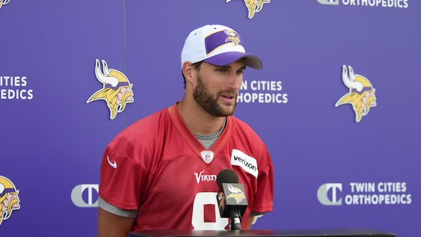Cousins: Vikings offense expects to start fast against Cardinals