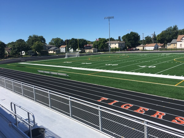 Lights! Turf! Action! Minneapolis South field gets huge makeover