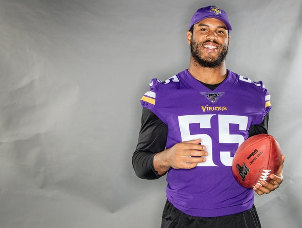 Anthony Barr didn't want to leave the Vikings after playing here for five seasons.