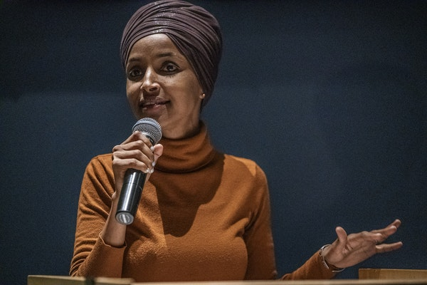 U.S. Rep. Ilhan Omar upset an incumbent in the Legislature and challenged a moderate in the primary for her House seat.