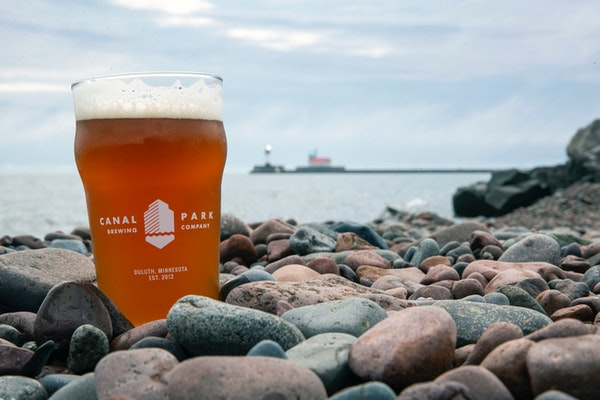 Canal Park Brewery's Kölsch- Alakef Infusion is one of their newest beers that has a hint of coffee mixed in. With the brewery right on the shore of