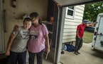 Frazee Family: Tamara Frazee and son Trystan, 11, who has autism spectrum disorder, moved to Austin after their benefits were slashed.