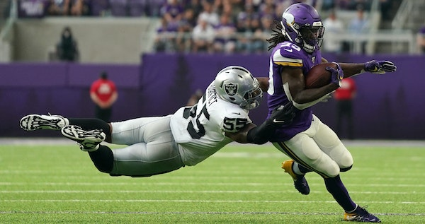 NFL rushing leader Dalvin Cook and the rest of the Vikings offense will face a Chicago Bears team on Sunday that led the NFL in run defense in 2018.