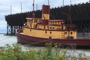 The tug Edna G., built in 1896, is on the National Register of Historic Places. It needs expensive repairs, and residents are divided on what to do.