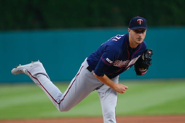 Twins pitcher Jake Odorizzi