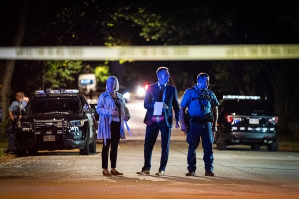 St. Paul officers and investigators responded to the intersection of Mendota Street and Fremont Avenue E. where a man was shot and killed earlier Tues
