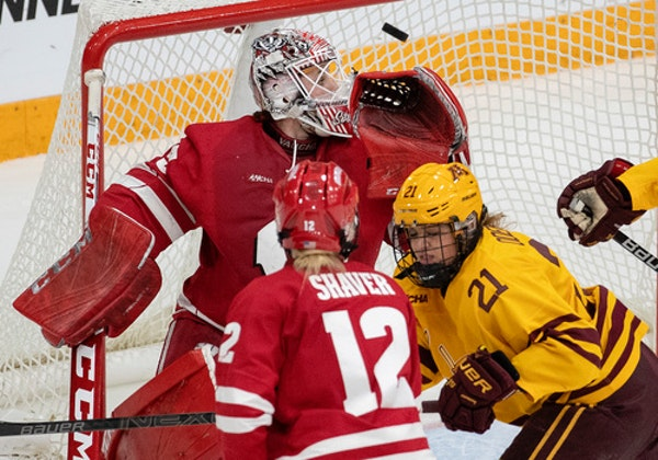 Wisconsin, led by goalie Kristen Campbell, and the Gophers battled throughout the 2018-19 season, with Minnesota winning the WCHA regular-season title