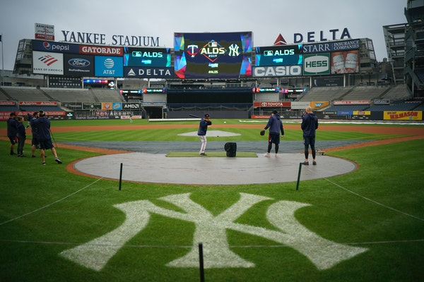 Yankee Stadium will host Games 1 and 2