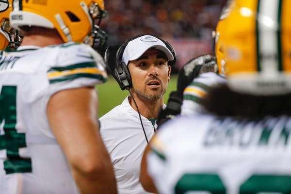 New Packers coach Matt LaFleur, renowned for his offensive mind, had to rely on his defense to beat the Bears.