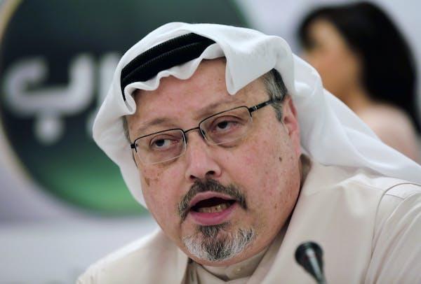 Journalist Jamal Khashoggi in 2014.
