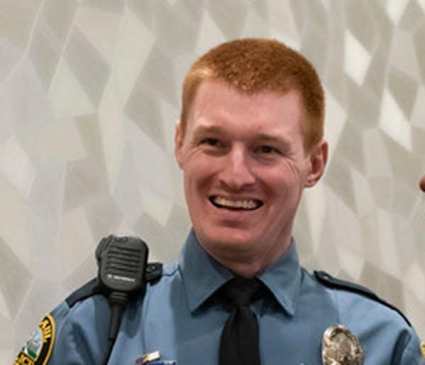 St. Paul police officer Alexander Graham