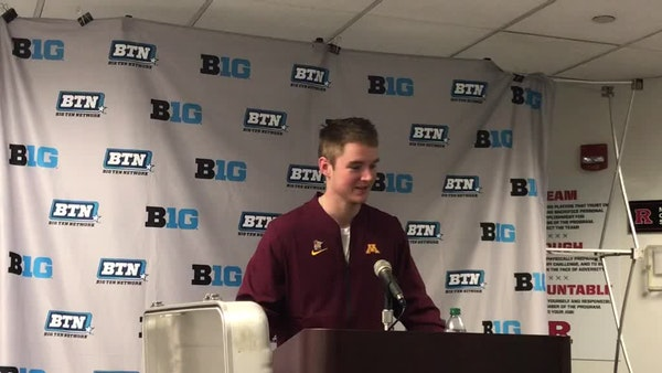 Casey O'Brien on playing his first college game after beating cancer 4 times