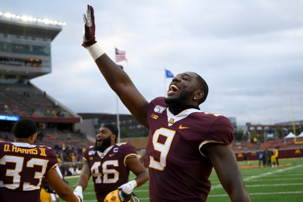 Gophers football just misses ranking in Associated Press Top-25 poll