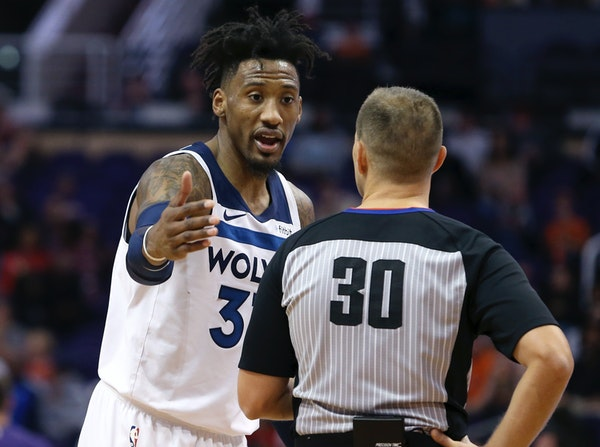 Timberwolves forward Robert Covington not only dealt with a bone bruise in his knee that limited him to playing only 22 games last season, but sought