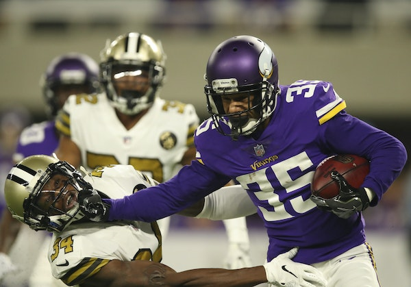 Right where they left off: Sherels, Treadwell embrace return to Vikings