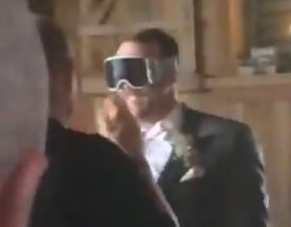 Return of the champagne goggles: Randy Dobnak's wedding odyssey