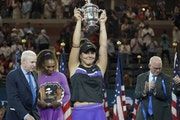 Bianca Andreescu visualized winning the U.S. Open in tennis.