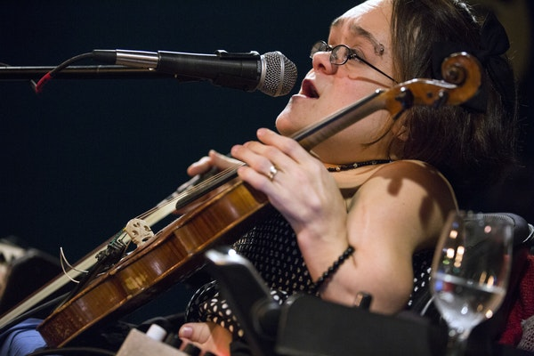 Gaelynn Lea heads up a four-act lineup Saturday night at the Ordway, which includes a pre-show Q&A.