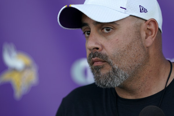 Vikings special teams coordinator Marwan Maalouf's intensity occasionally gets dialed back by Mike Zimmer.