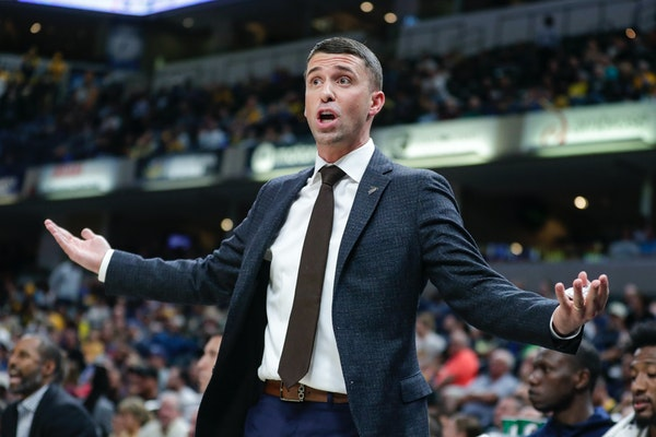 Disdaining the midrange jumper is now a requirement for Wolves coach Ryan Saunders, surrounded as he is by assistants he didn't hire, in order to ri