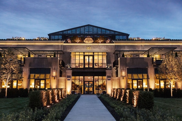 The new Restoration Hardware flagship store has opened by Southdale.