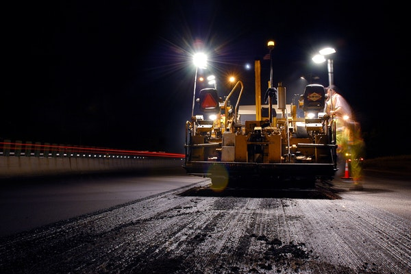 The Minnesota Department of Transportation will resurface the eastbound lanes of I-94 through St. Paul's Midway area from Friday night to Monday mor
