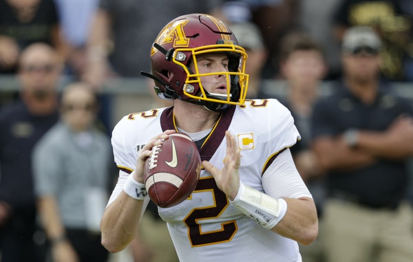 Gophers quarterback Tanner Morgan has always confronted doubts about his size, but his 4-0 start this season has quieted those concerns.