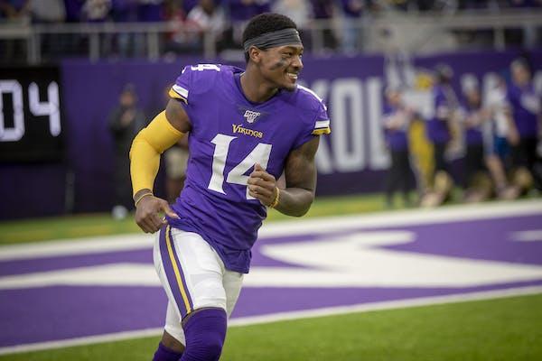 Vikings wide receiver Stefon Diggs