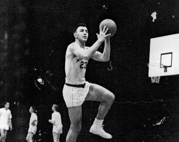 Ed Kalafat started at center for the Gophers from 1951-1954.