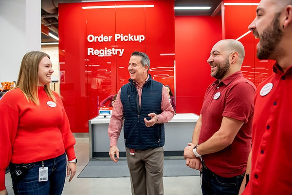 CEO Brian Cornell said Target will invest more than ever in employee training and hours for the holiday season.