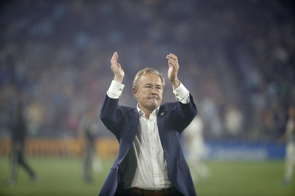 Minnesota United head coach Adrian Heath is in the discussion for MLS Coach of the Year honors for the team's improved play this season.