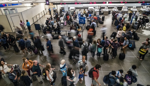 Officials say Minneapolis-St. Paul International Airport is ready for an expected surge of MEA weekend travelers.