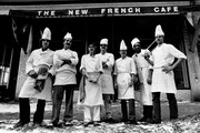 1982: Staff of the New French Cafe; the trail-blazing restaurant opened in 1977.
